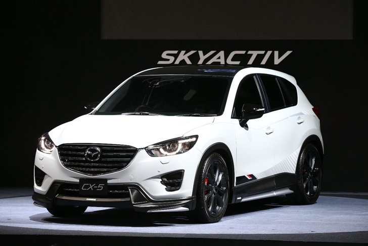 Mazda CX-5 Racing Concept เผยโฉมที่งานออโต้ซาลอน 2016