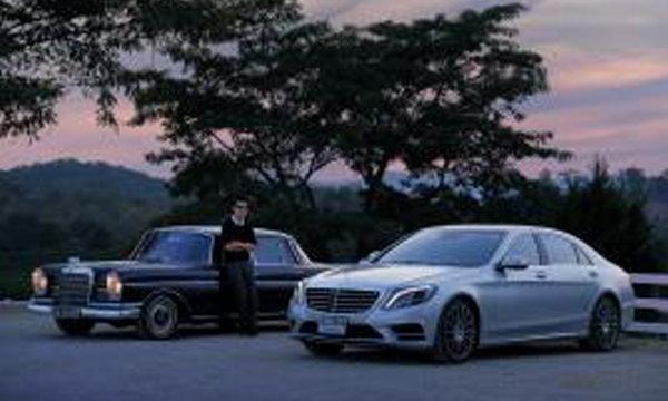 Mercedes-Benz AROUND THAILAND IN 18 DAYS ความเรียบหรู..ที่เหนือกาลเวลา