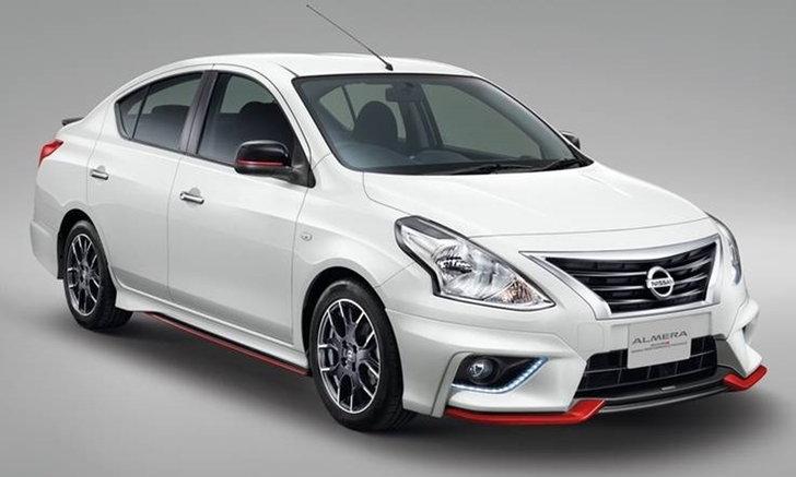 ราคารถใหม่ Nissan ในตลาดรถยนต์ประจำเดือนกรกฎาคม 2559