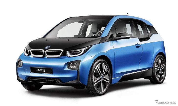 BMW i3 ใหม่ วิ่งได้ไกลขึ้นเป็น 300 กิโลเมตรโดยไม่ใช้น้ำมัน