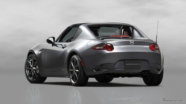 Mazda MX-5 RF เวอร์ชั่นหลังคาแข็งเตรียมเปิดตัวแล้วที่ยุโรป