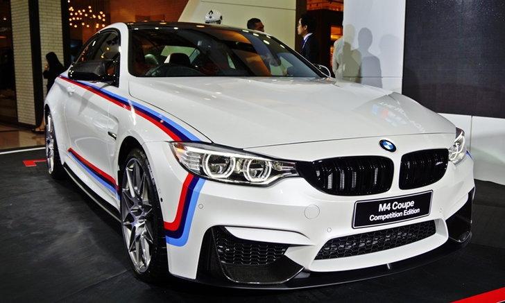 BMW M4 Coupe Competition Edition ใหม่ เคาะในไทย 9.999 ล้านบาท