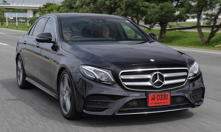 รีวิว Mercedes-Benz E220d AMG Dynamic ดาวหรูดวงใหม่ในมาดสปอร์ต