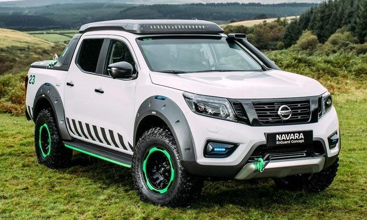 Nissan Navara EnGuard Concept ต้นแบบกระบะกู้ภัยคันงาม