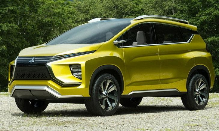 Mitsubishi XM Concept เตรียมเผยโฉมจริงที่งานมอเตอร์เอ็กซ์โป 2016