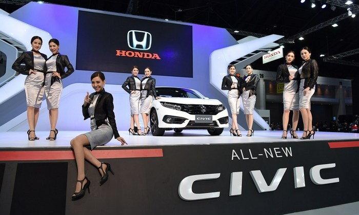 ไฮไลท์จากบูธฮอนด้าภายในงาน Motor Expo 2016