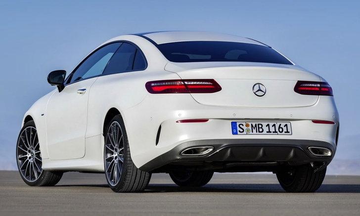 2018 Mercedes-Benz E-Class Coupe ใหม่ เผยโฉมจริงแล้ว