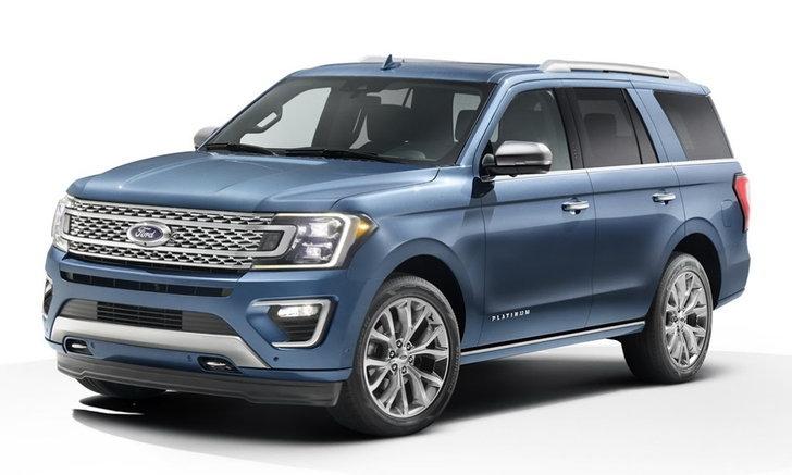 Ford Expedition 2018 ใหม่ เผยโฉมอย่างเป็นทางการในสหรัฐฯ