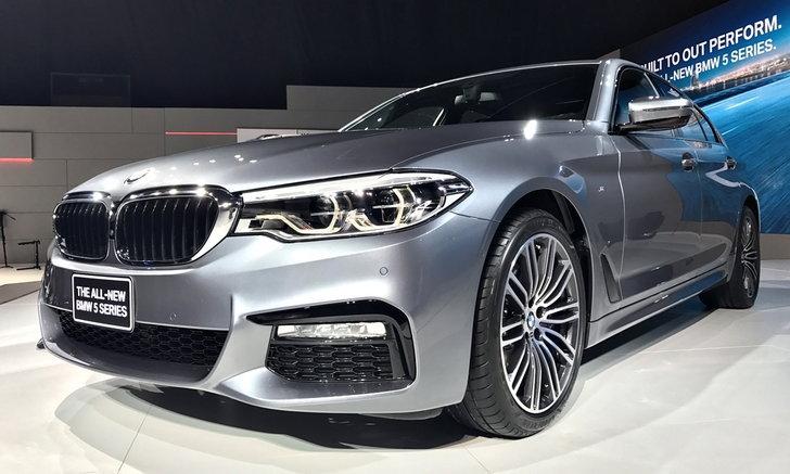 BMW 530i และ 520d 2017 ใหม่ เปิดตัวอย่างเป็นทางการแล้ว ราคาเริ่มต้น 3.899 ล้านบาท