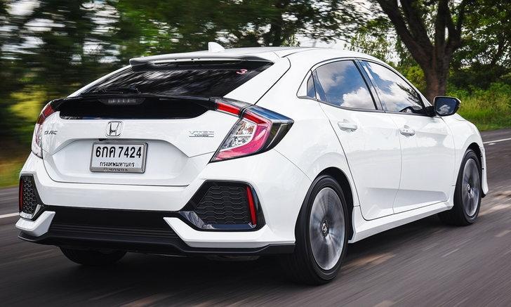 รีวิว Honda Civic Hatchback 2017 ใหม่ แฮทช์แบ็คหล่อแรงฟังก์ชั่นครบเครื่อง