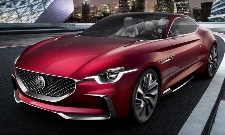 MG E-Motion Concept รถสปอร์ตพลังงานไฟฟ้ามีลุ้นขายจริง แถมค่าตัวถูกเว่อร์!