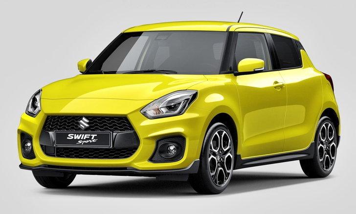 Suzuki Swift Sport 2017 ใหม่ เตรียมเปิดตัวที่แฟรงค์เฟิร์ตมอเตอร์โชว์