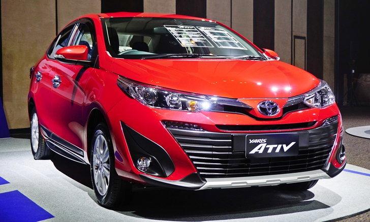 Toyota Yaris ATIV 2017 ใหม่ อีโคคาร์ซีดานรุ่นล่าสุด ราคา 619,000 บาท