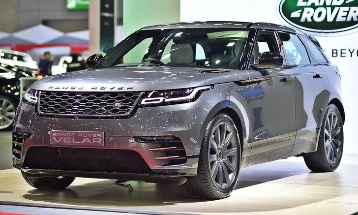 Range Rover Velar 2017 ใหม่ เคาะเริ่มต้น 5,999,000 บาทที่บิ๊กมอเตอร์เซล