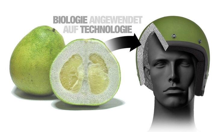 BMW เตรียมพัฒนาหมวกกันน็อคจาก 'ส้มโอ'