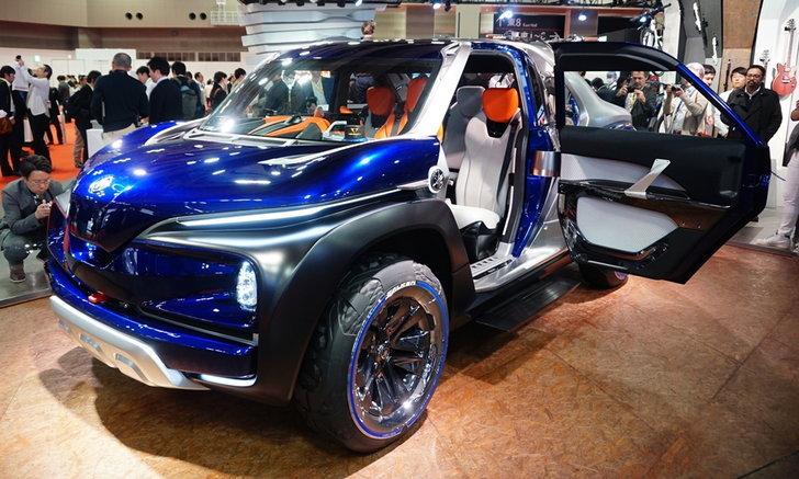 Yamaha Cross Hub Concept ใหม่ เมื่อยามาฮ่าหันมาทำครอสโอเวอร์ 4 ล้อ