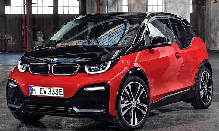 BMW i3S 2018 พร้อมมอเตอร์ไฟฟ้าลูกใหญ่ขึ้นเผยโฉมแล้ว
