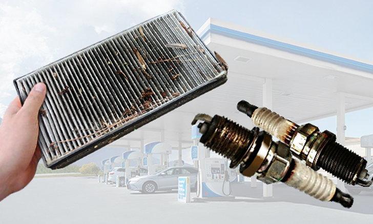 สาเหตุที่ทำให้รถกินน้ำมันมากกว่าปกติ มีอะไรบ้าง?