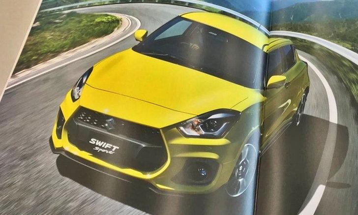 หลุดโบรชัวร์ Suzuki Swift Sport 2018 ใหม่ พ่วงเครื่องยนต์เทอร์โบ 1.4 ลิตร