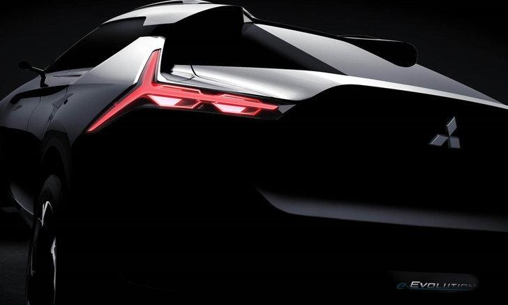 Mitsubishi e-Evolution ใหม่ เผยทีเซอร์ก่อนเปิดตัวที่โตเกียวมอเตอร์โชว์