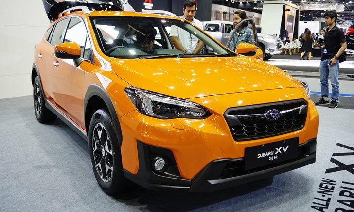 ราคารถใหม่ Subaru ในตลาดรถยนต์เดือนมกราคม 2561