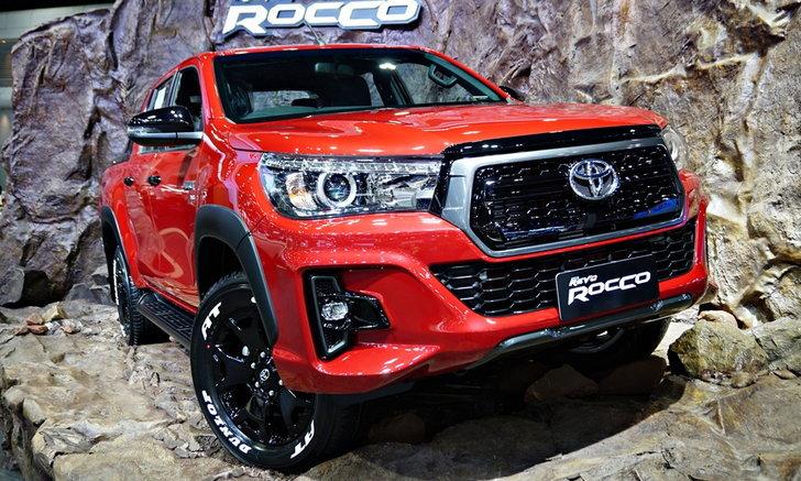 Toyota Hilux Revo Rocco 2018 ใหม่ ชมคันจริงที่งานมอเตอร์เอ็กซ์โป