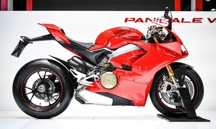 Ducati Panigale V4 2018 ใหม่ เคาะราคา 949,000 บาท ที่งานมอเตอร์เอ็กซ์โป