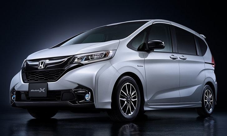 Honda Freed Modulo X 2018 ใหม่ อัดแน่นความสปอร์ตที่ญี่ปุ่น
