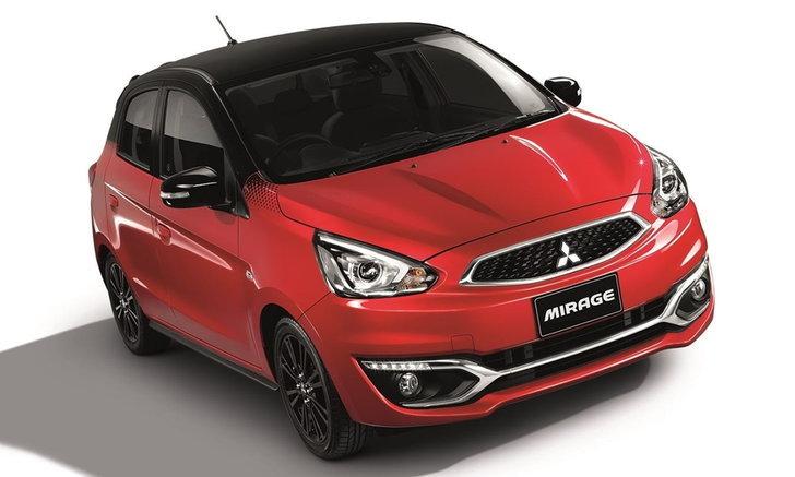Mitsubishi Mirage Limited Edition 2018 ใหม่ พร้อมชุดแต่งพิเศษรอบคัน ราคา 564,000 บาท