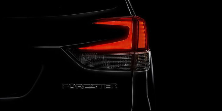 Subaru Forester 2018 ใหม่ เผยทีเซอร์ก่อนเปิดตัว 28 มี.ค.นี้