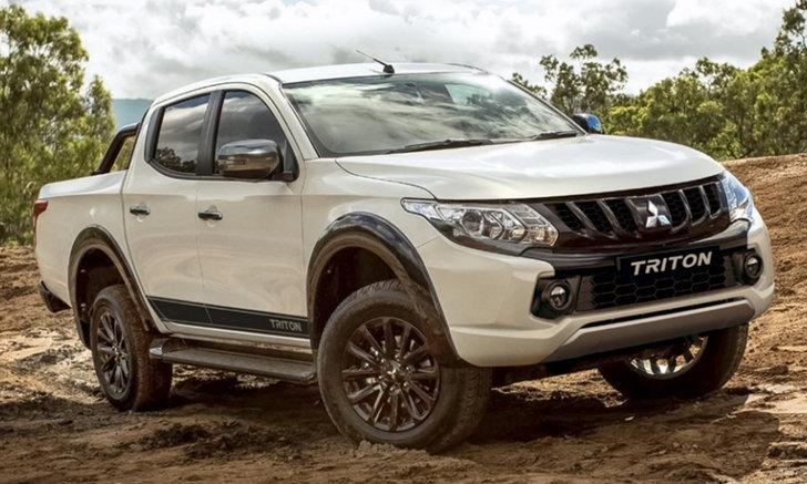 Mitsubishi Triton Blackline 2018 ใหม่ เริ่มวางจำหน่ายที่ออสเตรเลีย