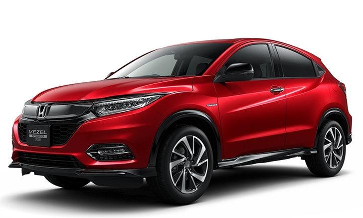 Honda HR-V 2018 ไมเนอร์เชนจ์เผยโฉมอย่างเป็นทางการที่ญี่ปุ่น