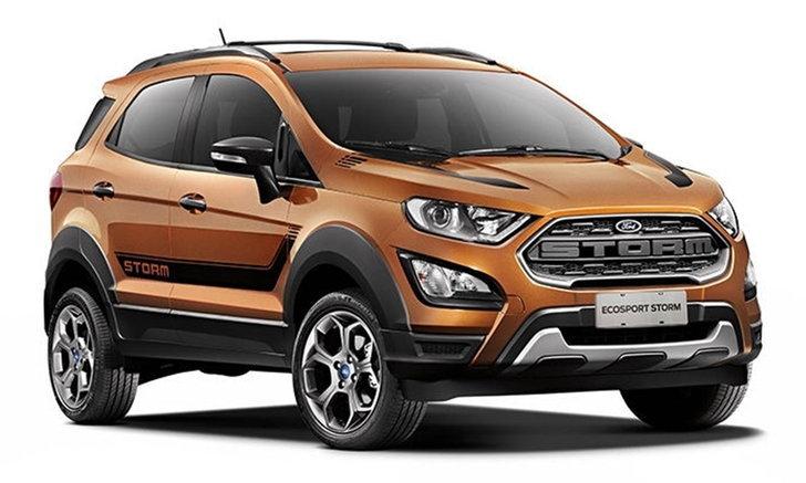 Ford EcoSport Storm 2018 ใหม่ เผยโฉมแล้วที่บราซิล