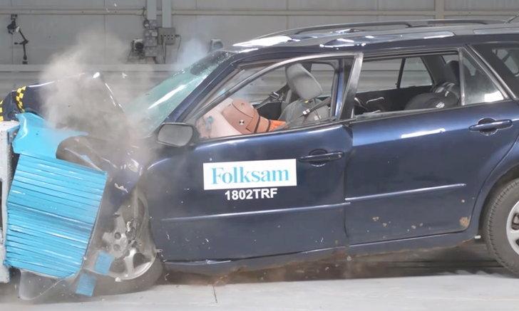 """อึ้ง! ผลทดสอบเผย """"รถมีสนิม"""" ทำให้โครงสร้างตัวรถเปราะขึ้นกว่าเดิม"""