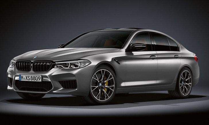 BMW M5 Competition 2018 ใหม่ เพิ่มขุมพลังเป็น 625 แรงม้า