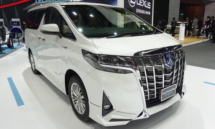 Toyota Alphard 2018 ไมเนอร์เชนจ์ใหม่เผยโฉมที่งานมอเตอร์โชว์