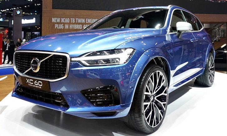ราคารถใหม่ Volvo ในตลาดรถประจำเดือนเมษายน 2561