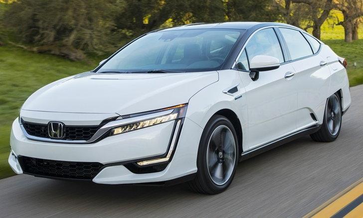 Honda Clarity Fuel Cell 2018 ใหม่ ขายจริงในสหรัฐฯ ฟรีไฮโดรเจนเฉียด 5 แสนบาท