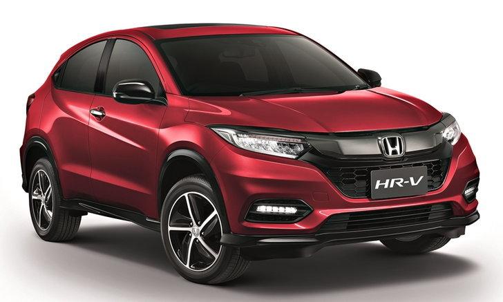 Honda HR-V 2018 ไมเนอร์เชนจ์ใหม่ เพิ่มรุ่น RS เคาะราคา 1,119,000 บาท