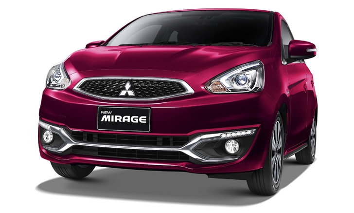 Mitsubishi Mirage 2018 ใหม่ เพิ่มอ็อพชั่นหรู เคาะราคาเริ่มต้น 467,000 บาท