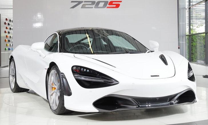 McLaren 720S 2018 พร้อมขุมพลัง V8 เทอร์โบคู่เปิดตัวในไทย ราคา 26,500,000 บาท