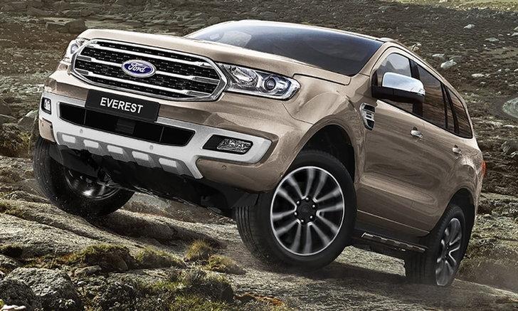 Ford Everest 2018 โฉมไมเนอร์เชนจ์เคาะวันเปิดตัวในไทย 10 ก.ค.นี้