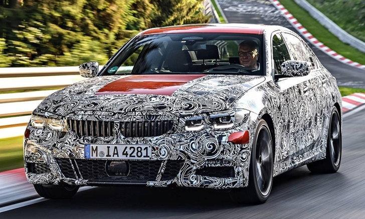 BMW 3-Series 2019 ใหม่ เผยทีเซอร์ชุดแรกก่อนเปิดตัวอย่างเป็นทางการเร็วๆ นี้