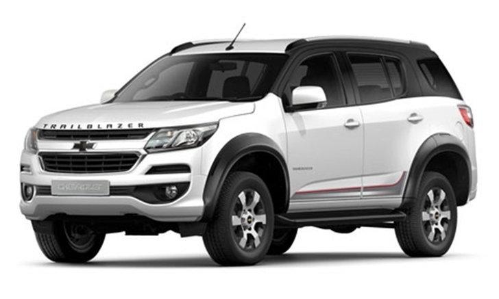 Chevrolet Trailblazer Phoenix Edition 2018 ใหม่ หั่นราคาพิเศษเหลือ 999,000 บาท