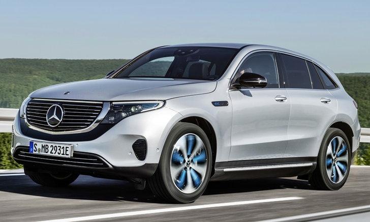 Mercedes-Benz EQC 2019 ใหม่ รถไฟฟ้าล้วนรุ่นแรกค่ายเบนซ์เผยโฉมเป็นครั้งแรก