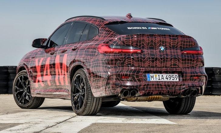 ทีเซอร์ BMW X3M และ X4M 2019 เอสยูวีตัวแรงเผยโฉมก่อนวางจำหน่ายจริง