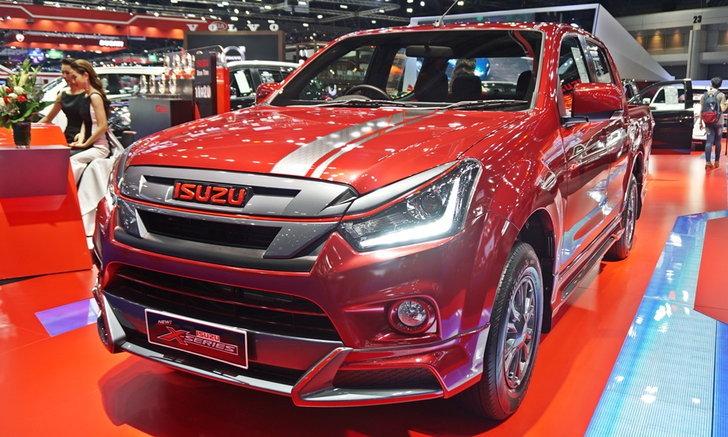 ราคารถใหม่ Isuzu ในตลาดรถประจำเดือนสิงหาคม 2561