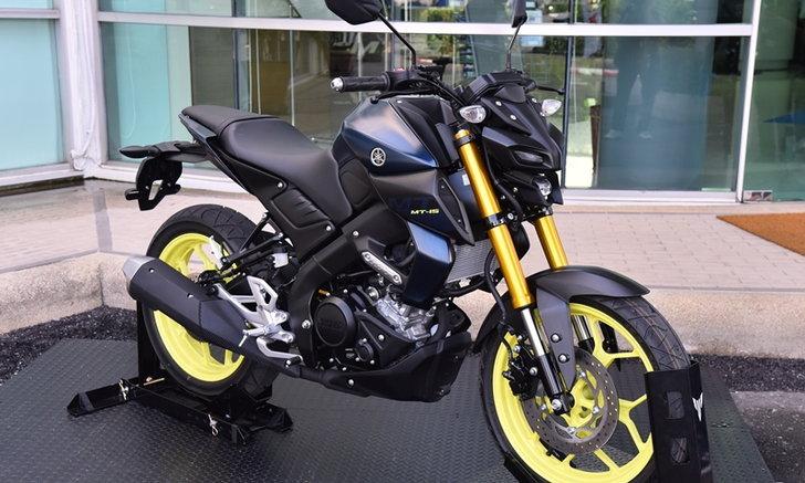 Yamaha MT-15 2018 ใหม่ เปิดตัวแล้วในไทย เคาะราคา 98,500 บาท