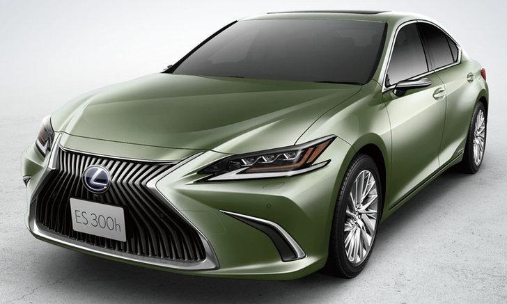 "Lexus ES 2019 ใหม่ พร้อม ""กล้องมองข้าง"" วางขายแล้วที่ญี่ปุ่น"