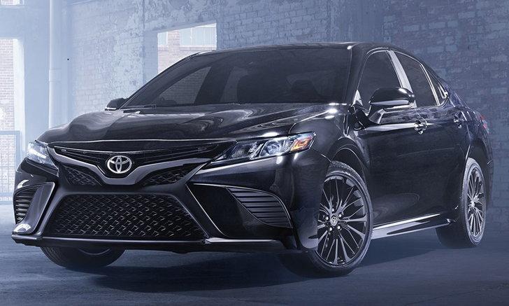 Toyota Camry Nightshade 2019 ใหม่ รุ่นพิเศษเตรียมเปิดตัวในสหรัฐฯ
